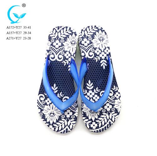 Air blow customizable thongs summer woman flip flops