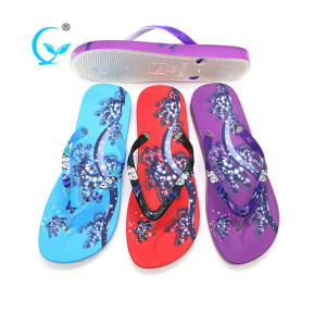 Wholesale pakistani ladies chappal die cut sole flip flops bali slippers