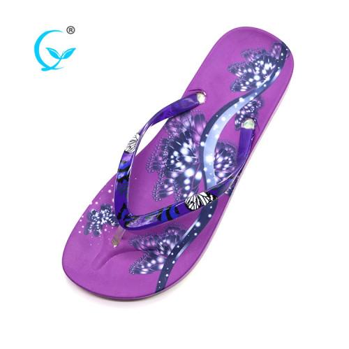 Wholesale pakistani ladies chappal die cut sole flip flops bali slippers