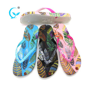 PVC transparent soft ladies indian slipper shoes beach wedding flip flops