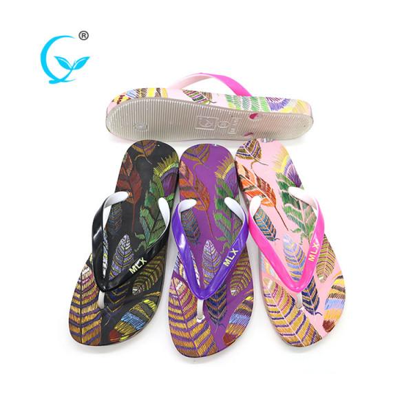 Anime sandals pvc transparent slippers women chinelos eva flip flops