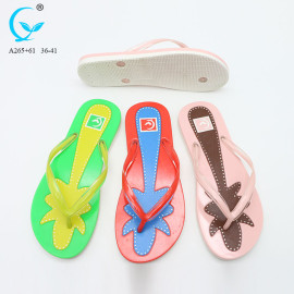 black wedges beach hotel women pu slippers shoes
