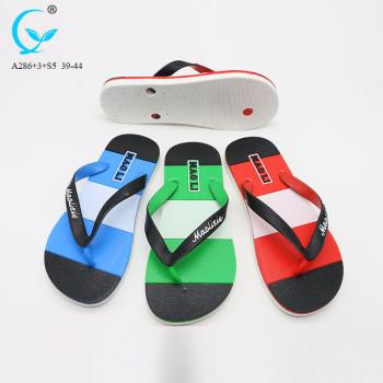 Outdoor antiskid footwear sandals men beach plastic slippers