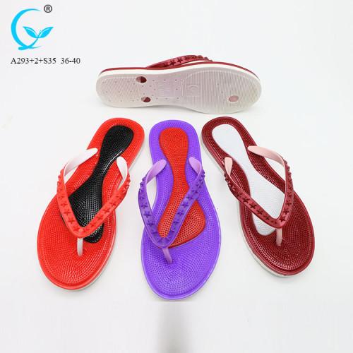 women shoes 2018 fur top ladies slippers