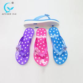 Rubber flip flops emoji disposable woman sandals shoes unicorn slippers