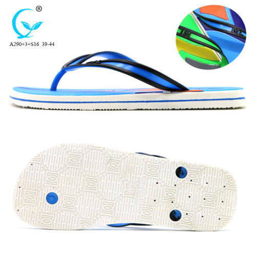 Factories in china the newest mens pvc thong sublimation flip flop straps