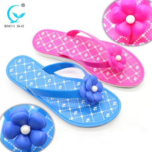 Basic rubber wholesale uk women's autumn summer spring flip flop