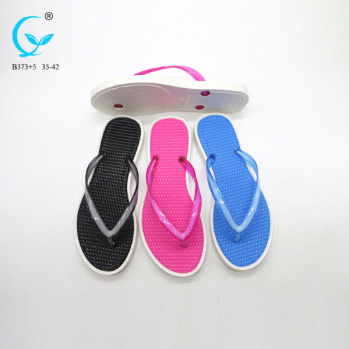 New arrival 2017 spring flip korean flat india chappal slipper