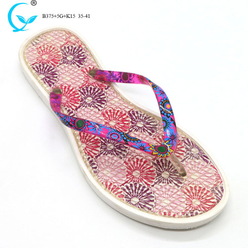 Wuchuan lady slippers from china air blowing slippers for women 2017
