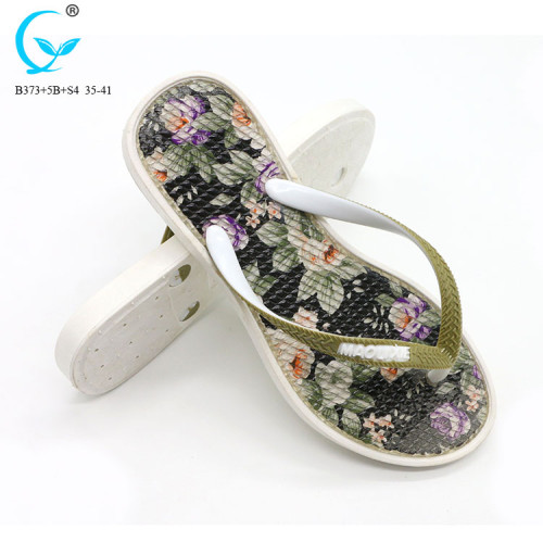 Pvc pool customised african unisex cheap slippers of kenya