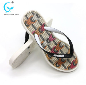 Designed models brazilian beach custom slippers slide sandal