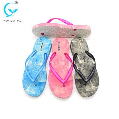 Women cheap fashion girl oem slipper slide in african flip flop