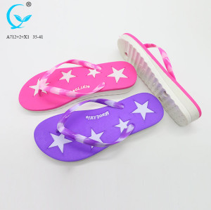 2017 new slides ladies footwear pvc cheap flip-flops slippers made in spain