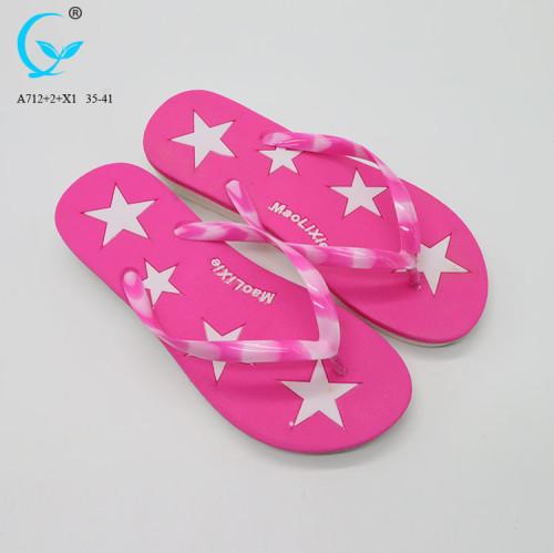 2017 new slides ladies footwear pvc cheap flip-flops slippers made in spain
