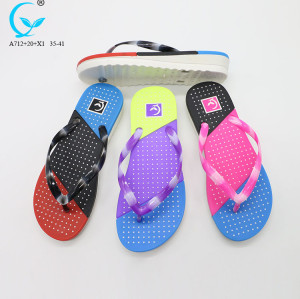 2017 arrivals slipper platform beach china wholesale rubber flip flops