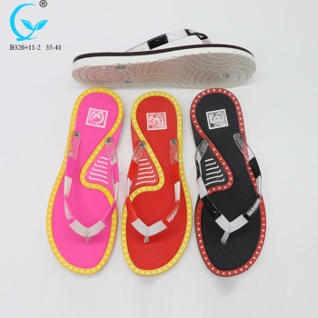 Thongs for women flip flop with logo printing peshawari chappal