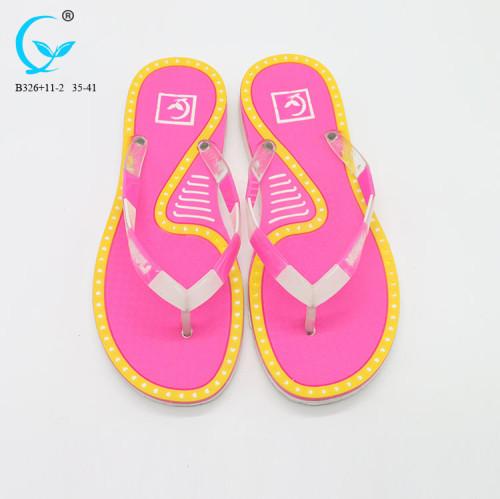 Thongs for women flip flop with logo printing peshawari chappal