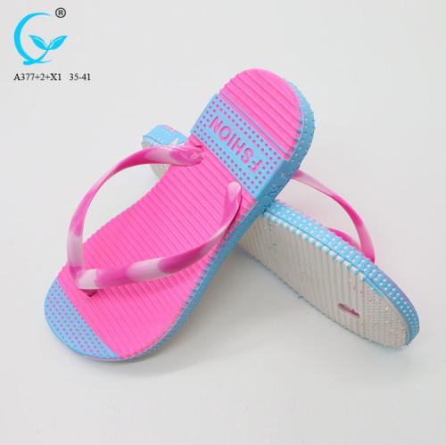 Nude beach massage vietnam flipflops beach rubber thong flip flops flat chappals for ladies