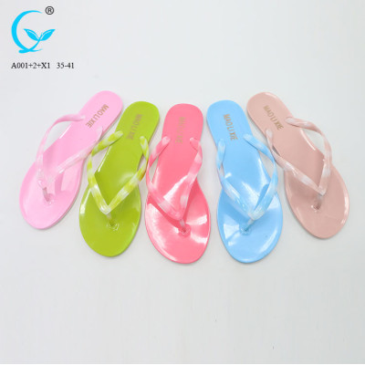 Candy color flip flop shoes for women best price of ladies slippers designs beautiful women soft slipper