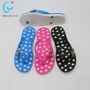 Girls summer beach thongs eva lady black nude chinese women flip flops