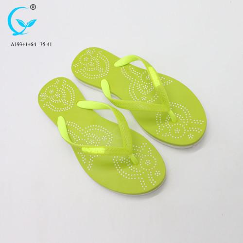 Flip flop 2018 fitness women's slipper ladies durable cheap slipper