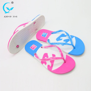 Slides shoe brand flat sandals slippers women wear footwear