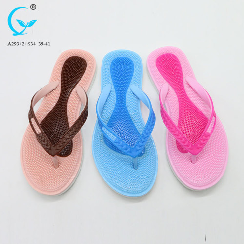 Good sale thai  shoes slippers women anatomic sexy ladies chappal