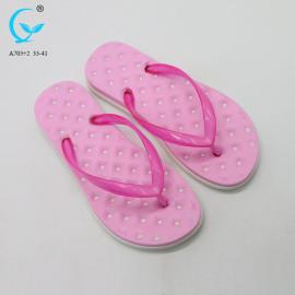 Beach patent indian chappal white branded pool slide slipper
