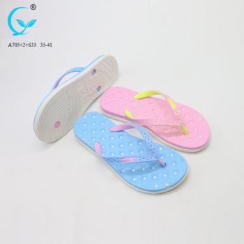 Shoe decoration flip flop new chappals photo swimming pool slipper
