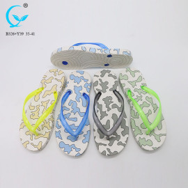 Wholesale beach guangzhou new trend ladies eva blowing slipper