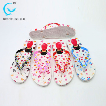 Female flip flop for summer ladies durable cheap women slippers and house shoes