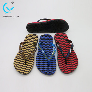 Durable eva korea flip flops gents shoes slippers mens footwear