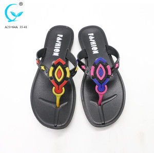 Plastic rubber new design latest ladies 2018 shoes sandals women