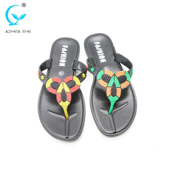 Brazilian plastic wholesale fancy ladies sandals from thailand