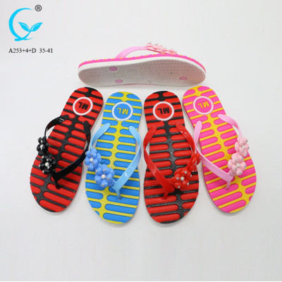 Women nude slippers for beach and promotion fair trade wholesale women shoes custom logo slippers