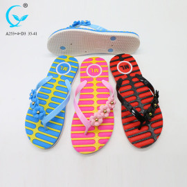Fashion flat soft house 2018 flip flops men beach slippers for women summer