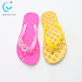 China pvc-slipper causal shoes customizable open beach wear slippers