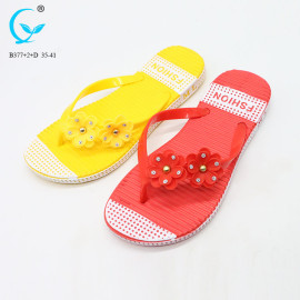 Adult princess spring flip korean flat slippers new sandal 2017 girl model sandals