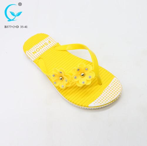 Adult princess spring flip korean flat slippers new sandal 2017 girl model sandals
