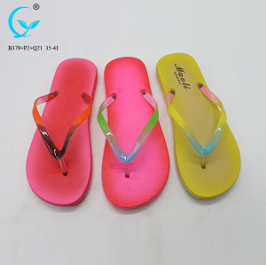 Women soft foot bed slipper beautiful slippers for girls beach sandal for ladies