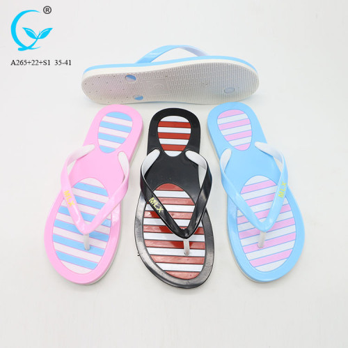 Chaussure femme sandal chappal winter slipper candy color flip flop shoes for women 2017