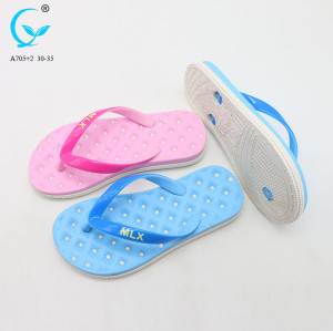 Beach patent indian chappal white branded pool slide slipper