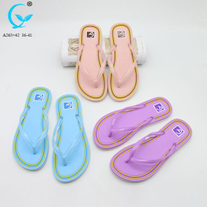 Outdoor play summer flip flops flat casual shoes sandals women slippers