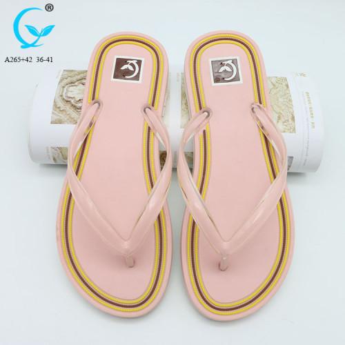 Outdoor play summer flip flops flat casual shoes sandals women slippers