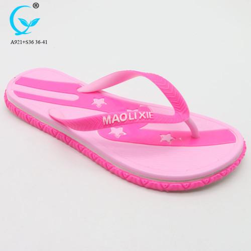 2018 fancy girl nude beach slipper sandal indoor slippers for women