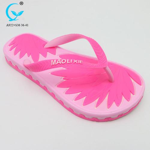 Girl nude beach sandal 2018 outdoor play equipment slippers for women
