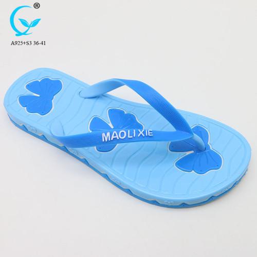 Flip flops custom printed fancy chappals 2018 indoor slippers for women
