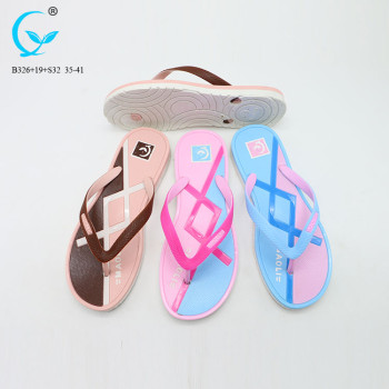 Ladies shoes sandal flat brand name women chappal pvc ladies fashion korea sandals