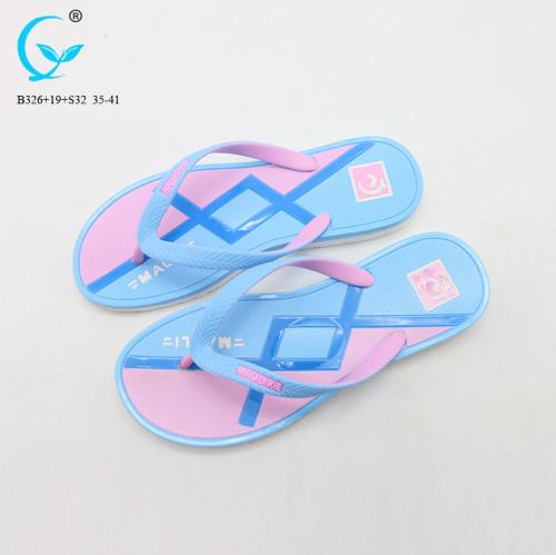 Ladies shoes sandal flat brand name women chappal pvc ladies fashion korea sandals