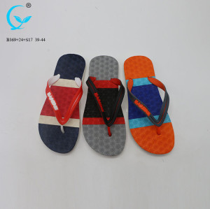 PCU slippers 2017 low price sandals chappals die cut eva slipper latest design sandal for men
